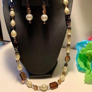 Necklace 3 Pc set Hand Made custom